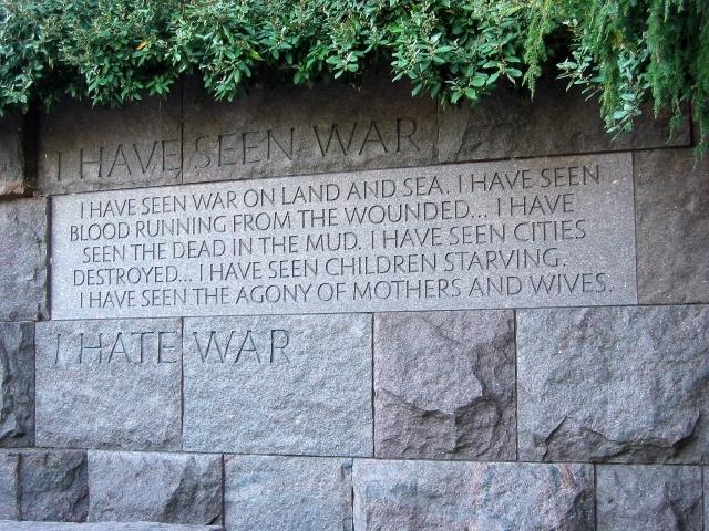 FDR National Monument, Washington DC
