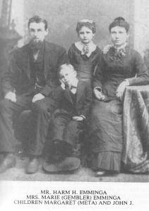 EMMINGA, Harm, Marie, John, & Margaret